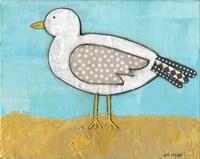 Seagull by the Seashore Fine-Art Print