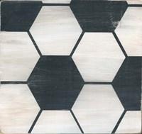 Rustic Soccer Fine-Art Print