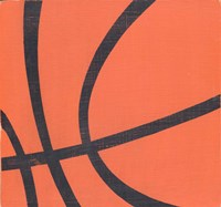Rustic Basketball Fine-Art Print