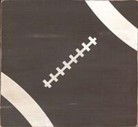 Rustic Football Fine-Art Print