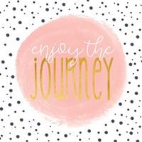 Enjoy the Journey - Blush Pink Fine-Art Print