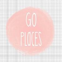 Go Places - Blush Pink Fine-Art Print