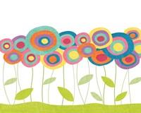 Lollipop Flower Field Fine-Art Print
