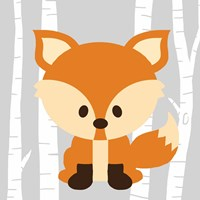 Woodland Fox Fine-Art Print