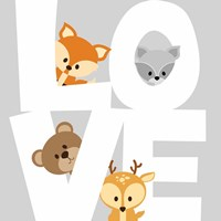 Woodland Love Fine-Art Print