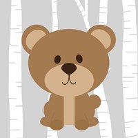 Woodland Bear Fine-Art Print