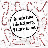 Santa's Helpers - Wine Fine-Art Print