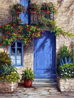 Provence Blue Door Fine-Art Print