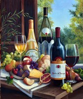 Still Life with Wines Fine-Art Print