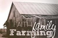Faith, Family, Farming Fine-Art Print