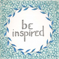 Be Inspired Swirls Fine-Art Print
