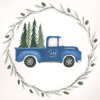 Old Blue Truck Fine-Art Print
