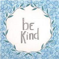 Be Kind Swirls Fine-Art Print