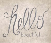 Hello Beautiful Fine-Art Print