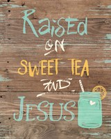 Tea & Jesus Fine-Art Print