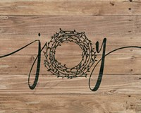 Joy (wreath) Fine-Art Print