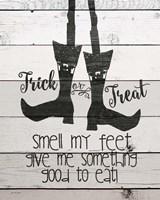 Smell My Feet Framed Print