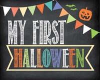 First Halloween Photo Prop Fine-Art Print