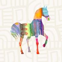 Colorful Horse III Fine-Art Print
