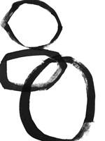 Brushstroke Circles I Fine-Art Print