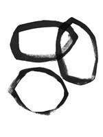 Brushstroke Circles III Fine-Art Print