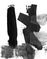 BW Brush Stroke VII Fine-Art Print