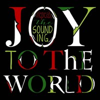 Joy to the World on Black Fine-Art Print