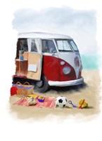 Beach Van Fine-Art Print