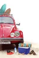 Car on Beach Fine-Art Print