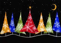 Holiday Trees Fine-Art Print