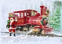 Christmas Train Fine-Art Print