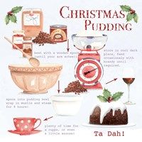 Christmas Pudding 1 Fine-Art Print