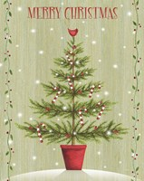 Merry Christmas - Tree Fine-Art Print
