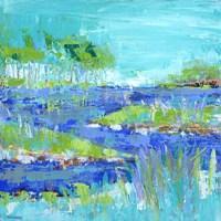Blue Series Inspiring Fine-Art Print