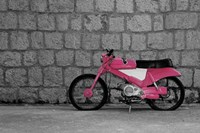 Pop of Color Pink Motorcycle Fine-Art Print