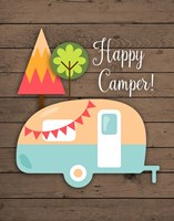 Happy Camper Fine-Art Print
