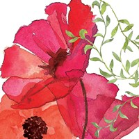 Vibrant Floral I Fine-Art Print