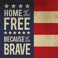 Because of the Brave Fine-Art Print