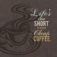 Cheap Coffee Fine-Art Print