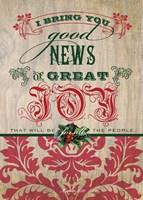 Good News Fine-Art Print