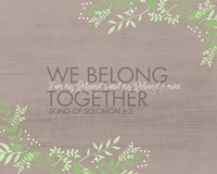 We Belong Fine-Art Print