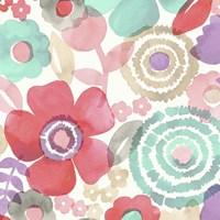 Ocean Shores Floral II Fine-Art Print