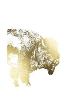 Gold Foil Buffalo Fine-Art Print