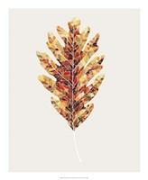Fall Mosaic Leaf I Fine-Art Print