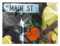 Main Street Collage Fine-Art Print
