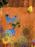 Butterfly Panorama Triptych I Fine-Art Print