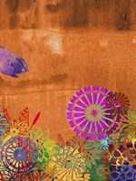 Butterfly Panorama Triptych III Fine-Art Print