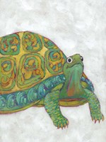 Turtle Friends I Fine-Art Print