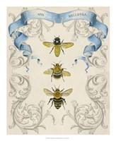 Bees & Filigree II Fine-Art Print