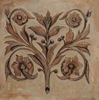 Pablo Segovia - Decorative Scroll I Fine-Art Print